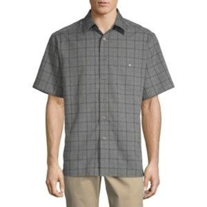 Like New Haggar Cooling Button Down Shirt, Size XL